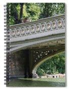Bow Bridge Texture - Nyc Spiral Notebook