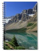 Bow Lake 2 Spiral Notebook