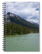 Bow River - Banff Spiral Notebook