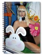 Bow Tie Blonde Spiral Notebook