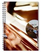Bow Tie Mirror Spiral Notebook
