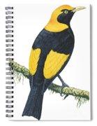 Bowerbird  Spiral Notebook