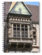 Bowfront City Hall Wroclaw Spiral Notebook