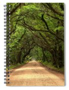 Bowing Oak Trees Spiral Notebook