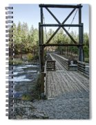 Bowl And Pitcher Bridge - Spokane Washington Spiral Notebook