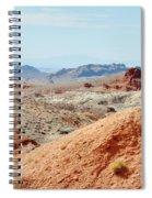 Bowl Of Fire  Spiral Notebook