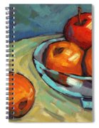 Bowl Of Fruit 2 Spiral Notebook