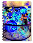Bowl Of Marbles Spiral Notebook