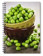Bowl Of Peas Spiral Notebook