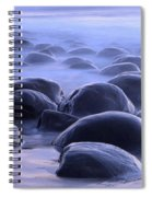 Bowling Ball Beach California Spiral Notebook