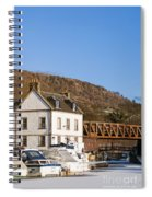Bowling Harbour House Spiral Notebook