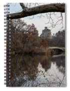 Bows And Arches - New York City Central Park Spiral Notebook