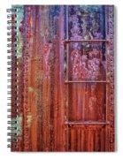 Boxcar Ladder Spiral Notebook