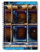Boxed In Spiral Notebook