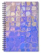 Boxes In Purple And Pink Spiral Notebook