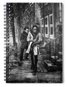 Boy In Heels Spiral Notebook