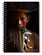 Boy Of The Amazon 3 Spiral Notebook