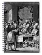 Boycott Of British Tea Spiral Notebook