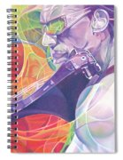 Boyd Tinsley And Circles Spiral Notebook