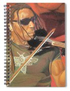 Boyd Tinsley At Red Rocks Spiral Notebook