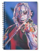 Boyd Tinsley Colorful Full Band Series Spiral Notebook