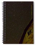 Boylan Creek At Night Spiral Notebook