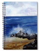 Boynton Waves Spiral Notebook