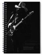 Boz On The Bass Guitar 1977 Spiral Notebook