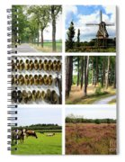 Brabant Collage Spiral Notebook