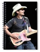 Brad Paisley Spiral Notebook