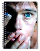 Brad Pitt In The Film The Mexican - Gore Verbinski 2001 Spiral Notebook