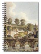Bradford, From Bath Illustrated Spiral Notebook