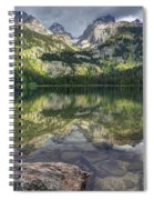 Bradley Lake Reflection - Grand Teton National Park Spiral Notebook