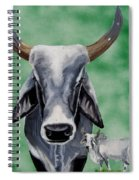 Brahma Bull Spiral Notebook