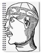 Brain Diagram, 1503 Spiral Notebook
