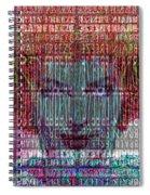 Brain Freeze Spiral Notebook