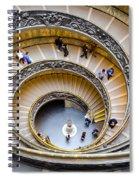 Bramante Spiral Staircase In Vatican City Spiral Notebook