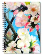 Branches Of Almond Tree Spiral Notebook