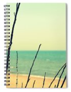 Branches On The Beach Spiral Notebook