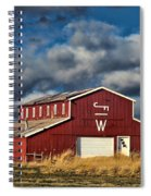 Branded Barn Spiral Notebook