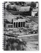 Brandenburg Gate Spiral Notebook