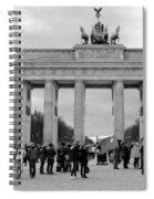 Brandenburger Tor - Berlin Spiral Notebook