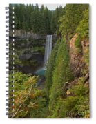 Brandywine Falls Plunge Spiral Notebook