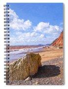 Branscombe Beach - Impressions Spiral Notebook