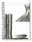 Brasilia Landmarks Spiral Notebook