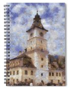 Brasov City Hall Spiral Notebook