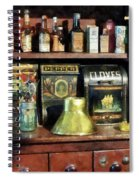 Brass Funnel And Spices Spiral Notebook