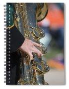 Brass Musical Instrument 01 Spiral Notebook