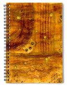 Brass Tokens Spiral Notebook