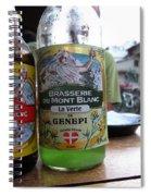 Brasserie Du Mont Blanc Spiral Notebook